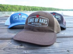 Lake of Bays Mesh Snapback Cap
