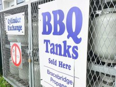 Propane tanks SOLD HERE